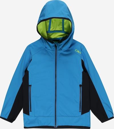 CMP Outdoorjas in de kleur Lichtblauw / Riet / Zwart, Productweergave