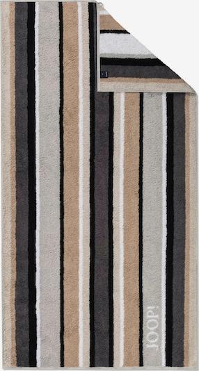 JOOP! Handdoek in de kleur Bruin / Grijs / Zwart / Wit, Productweergave
