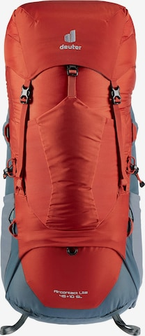 DEUTER Sports Backpack 'Aircontact Lite' in Red