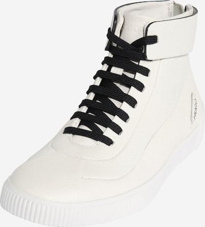 HUGO Sneaker 'Zero Mid Wave-C' in weiß, Produktansicht