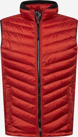 TOM TAILOR Vest in Red