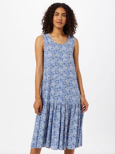 kék / sötétkék / fehér Claire Nyári ruhák 'Daphne', Modell nézet