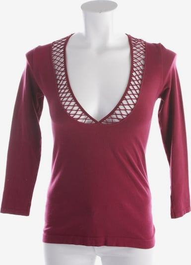 FALKE Shirt langarm in M in bordeaux, Produktansicht
