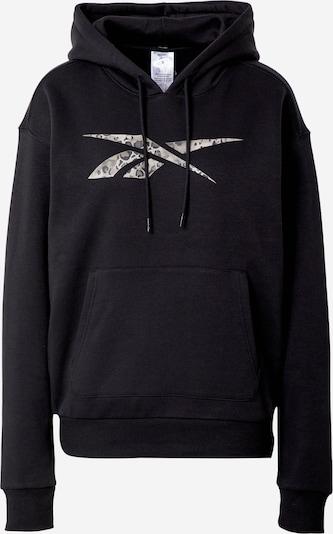 REEBOK Sportsweatshirt 'Modern Safari' in taupe / anthrazit / schwarz, Produktansicht