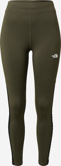 THE NORTH FACE Pantalon outdoor en kaki / noir / blanc, Vue avec produit