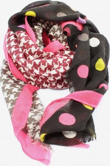 CODELLO Strickschal in One Size in braun / pink / wollweiß, Produktansicht