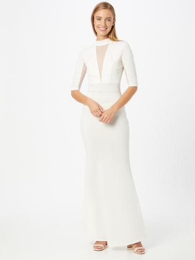 WAL G. Kleid 'CINDERS' in weiß, Modelansicht