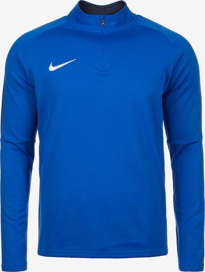 NIKE T-Shirt fonctionnel 'Dry Academy 18 Drill' en bleu / noir / blanc, Vue avec produit