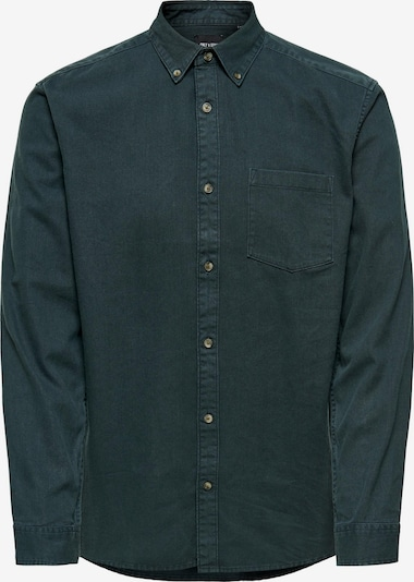 Only & Sons Overhemd 'Bryce' in de kleur Smaragd, Productweergave