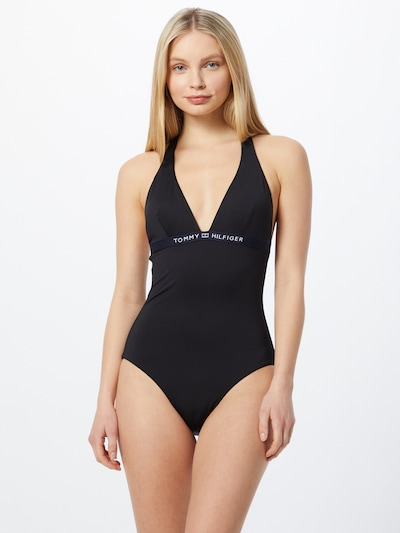 Tommy Hilfiger Underwear Swimsuit in Black / White, View model