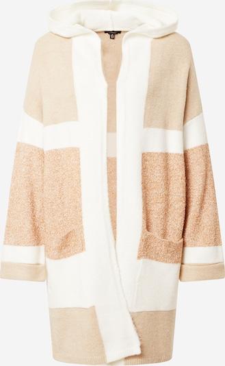 Mavi Cardigan en beige / crème / blanc, Vue avec produit