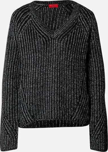 HUGO Pullover in schwarz, Produktansicht