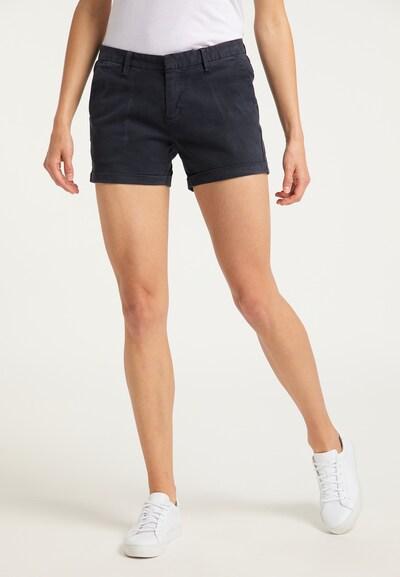 DreiMaster Vintage Shorts in nachtblau, Modelansicht