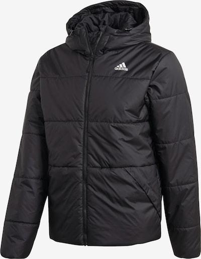 Sportinė striukė iš ADIDAS PERFORMANCE , spalva - juoda / balta, Prekių apžvalga