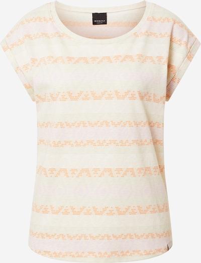 Iriedaily T-Shirt 'Lettie' in grün / mint / orange / rosa, Produktansicht