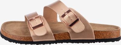 Lynfield Pantoletten in rosegold, Produktansicht