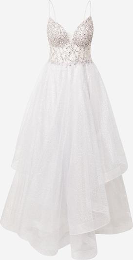 Unique Avondjurk in de kleur Zilver / Transparant, Productweergave