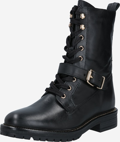 PS Poelman Snørestøvler i sort, Produktvisning