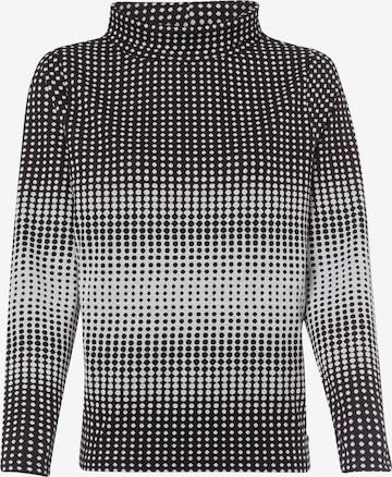 Olsen Sweatshirt 'Henny' in Schwarz