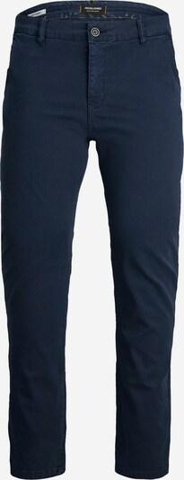Pantaloni eleganți Jack & Jones Plus pe albastru închis, Vizualizare produs