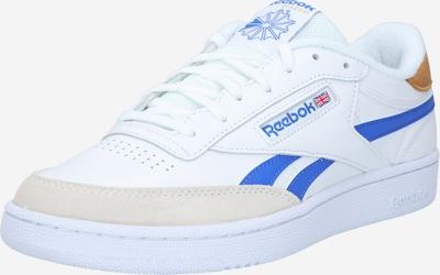 Reebok Classic Baskets basses 'Revenge' en bleu roi / marron / blanc, Vue avec produit
