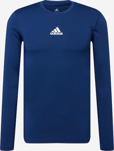Sportiniai marškinėliai iš ADIDAS PERFORMANCE, spalva – tamsiai mėlyna jūros spalva / balta, Prekių apžvalga