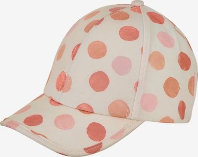 STERNTALER Cap in beige / orange / hummer / rosa, Produktansicht