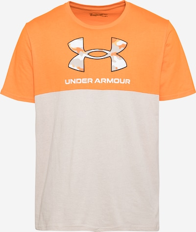 UNDER ARMOUR Functional shirt in Beige / Orange, Item view