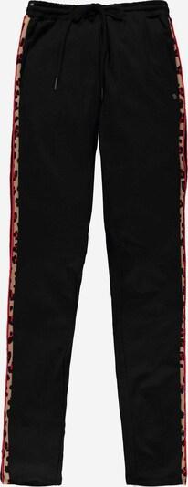 GARCIA Hose in hellbraun / rot / schwarz, Produktansicht