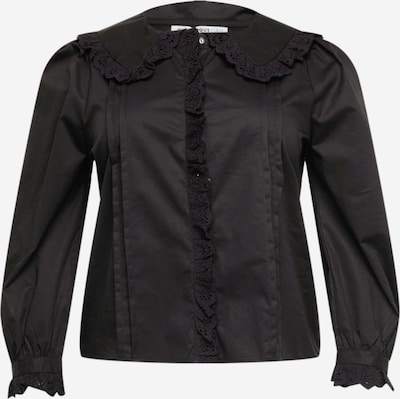 GLAMOROUS CURVE Blouse in de kleur Zwart, Productweergave