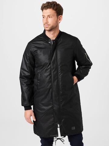 Manteau mi-saison Brixtol Textiles en noir