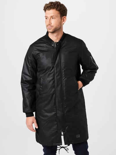 Brixtol Textiles Mantel in schwarz, Modelansicht