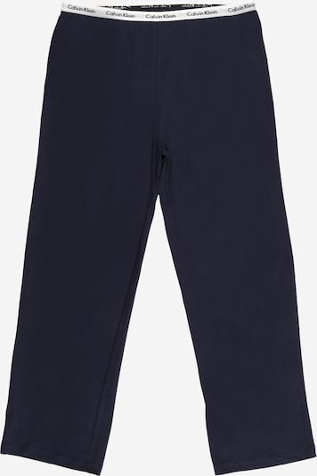 Pantaloni Calvin Klein Underwear pe bleumarin / alb, Vizualizare produs