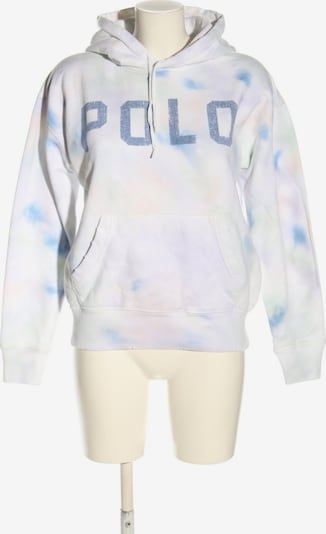 RALPH LAUREN Kapuzensweatshirt in M in creme / blau / weiß, Produktansicht