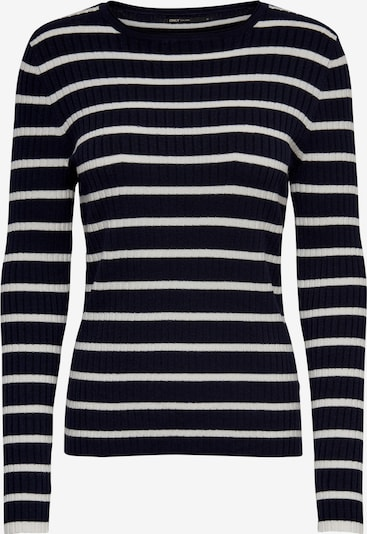 ONLY Sweater in Night blue / White, Item view