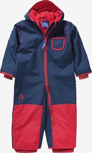 FINKID Athletic Suit 'PIKKU' in Dark blue / Red, Item view