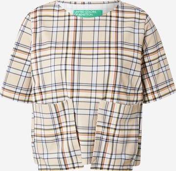 UNITED COLORS OF BENETTON Shirt in Bruin