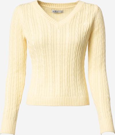 HOLLISTER Pullover in hellgelb, Produktansicht