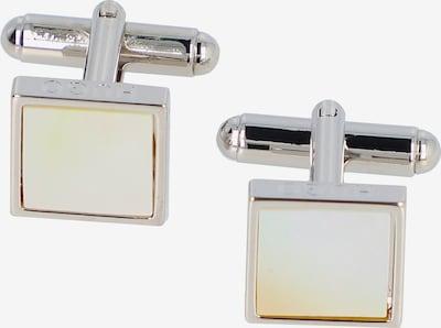 HUGO Manchetknopen in de kleur Zilver, Productweergave