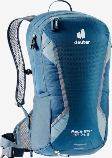 DEUTER Rucksack 'Race EXP Air' in marine / hellblau / silber, Produktansicht
