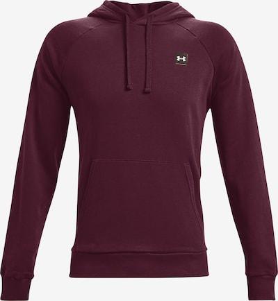 UNDER ARMOUR Sportsweatshirt 'Rival' in de kleur Bordeaux, Productweergave