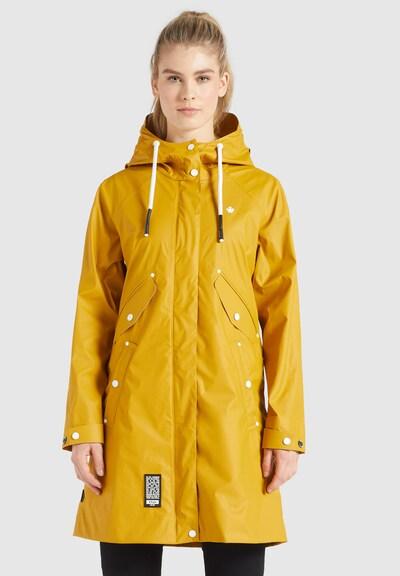 khujo Funktionsmantel 'SOLEA2' in gelb, Modelansicht