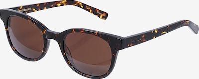 EYE RESPECT Retrosonnenbrille 'JUSTYNA' in dunkelbeige / schwarz, Produktansicht