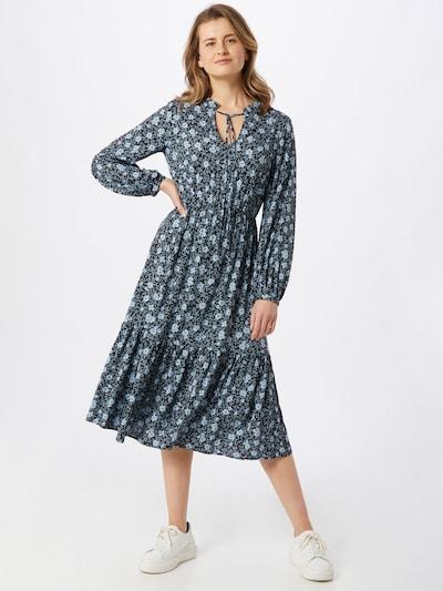 OBJECT Blousejurk 'Giri' in de kleur Lichtblauw / Zwart, Modelweergave