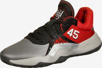 ADIDAS PERFORMANCE Basketballschuhe 'D.O.N. Issue #1' in silbergrau / rot / schwarz, Produktansicht