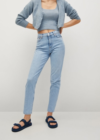 MANGO Jeans in hellblau, Modelansicht
