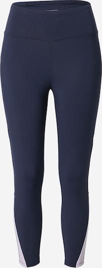 ESPRIT SPORT Sporthose 'PER' in dunkelblau / pastelllila / weiß, Produktansicht