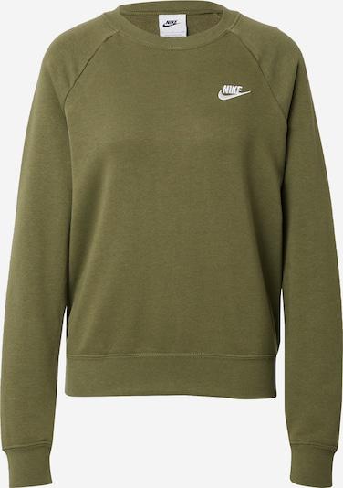 Felpa Nike Sportswear di colore oliva / bianco, Visualizzazione prodotti