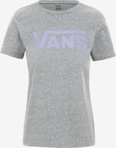 VANS T-Shirt 'WM FLYING' in graumeliert / lila, Produktansicht