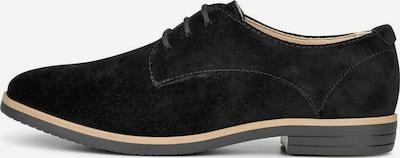 COX Schnürschuh in beige / schwarz, Produktansicht